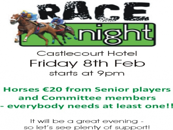 RACE NIGHT FEB 2013