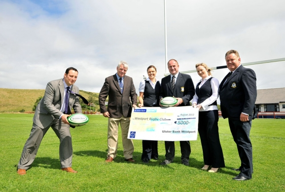 ULSTER BANK RUGBY FORCE AWARD & Westport RFC 2013 CLUB DAY